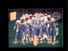 1994 Stadium Club HOUSTON OILERS Super Team Members Only Card GARY BROWN