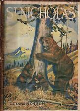 1930 St. Nicholas May - Bears and Honey; making your own movies; Eagle and snake