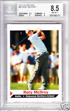 Rory McIlroy 2011 Sports Illustrated Kids SI golf Rookie Card RC BGS 8.5 NM-MT++