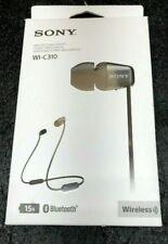Sony WI-C310 Wireless Bluetooth Earbuds Neckband Headphones BLACK WIC310/B