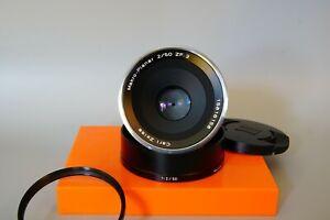 ZEISS Makro-Planar T* 50mm f/2 ZF.2 Lens for Nikon F-Mount Cameras Mint