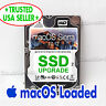 256GB SSD Upgrade Apple Macbook Pro 10.12 Sierra 2011 2012 A1278 A1286 250GB