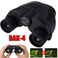 10x25 Zoom Day Night Vision Outdoor Travel Binoculars Hunting Telescope+Case A