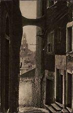 San Remo Sanremo Italien Italia Ligurien AK ~1930 Altstadt Häuser Gasse Vicolo