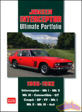 JENSEN INTERCEPTOR BOOK PORTFOLIO ULTIMATE GT CONVERTIBLE