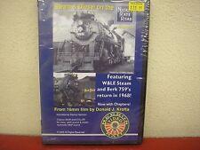Steam & Diesel On The Nickel Plate Road Vol 3 DVD Herron Rail Video NKP Krofta