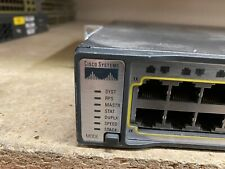 Cisco Catalyst 3750-E Series Ws-C3750E-48Td-S C3K-Pwr-265Wac