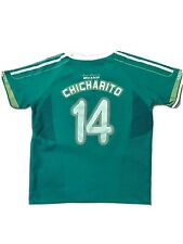 Chicharito Mexico National Team Jersey Youth Large Selección Mexicana *Damaged*