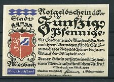 Meiesbach 50 Pfenning Notgeld serie compl.