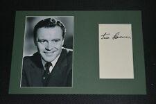 JACK LEMMON signed Autogramm In Person 20x30 cm Passepartout rar !!