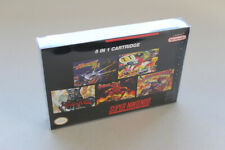 5in1 NTSC Multicartridge Snes - Demons Crest, Hagane, BombermanREAD DESCRIPTION!