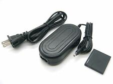 AC Power Adapter DMW-AC5 + DMW-DCC10 DC Coupler For Panasonic DMC-FX78 DMC-FX80