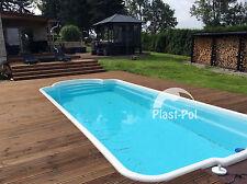 Gfk Schwimmbecken 10,00x3,20x1,50 Swimming Pool Fertigbecken Gartenpool SET