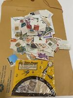 Foreign Stamps Used Lot Crafts collector