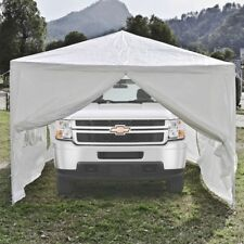 ALEKO Portable Garage Carport Car Shelter PartyTent Canopy 30 x 10 Ft White