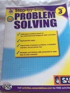 Step-By-Step Problem Solving, Grade 3(Singapore Math).