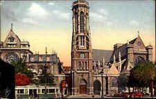 ~1930 Carte postale Postkarte PARIS Frankreich Eglise St. Germain Kirche Church