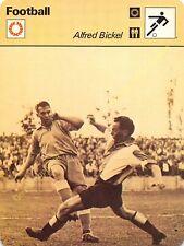 Fiche Photo Football ALFRED BICKEL Edit RENCONTRE
