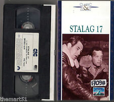 STALAG 17 (1953)   VHS CIC Video  William Holden  Robert Strauss Billy Wilder