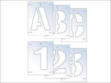Letter & Number Stencil Kit 50mm SCA9404