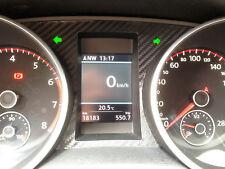 GOLF 6 MK VI R GTI GTD STI R Line compteur de vitesse combiné instrument carbone sticker autocollant