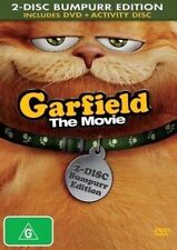 4 DVDs for kids - GARFIELD THE MOVIE*SPACE CHIMPS 2*SANTA CLAUS*THE MIGHTY DUCKS