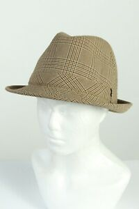 Vintage Westbury 80s Fashion Mens Trilby Lined Hat Smart Casual Brown - HAT1276