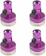 RC Car STEALTH  MAGNETIC BODY MOUNT 5MM Body Post  *SET OF 4* PURPLE