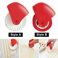 Pizza Lattice Noodle Dough Cutter Pastry Pie Wheel Roller Kitchen Baking NEW