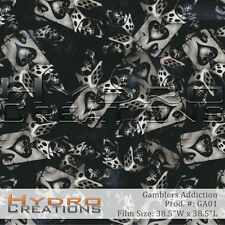HYDROGRAPHIC FILM FOR HYDRO DIPPING WATER TRANSFER FILM GAMBLERS ADDICTION