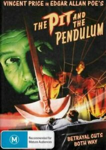 THE PIT AND THE PENDULUM DVD 1961 NEW Region 4 Vincent Price, Barbara Steele