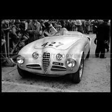 Photo A.012846 ALFA ROMEO 412 SPIDER FELICE BONETTO G CASNAGHI MILLE MIGLIA 1951