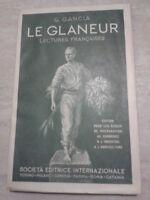 G. Gancia - LE GLANEUR - 1942 - SEI