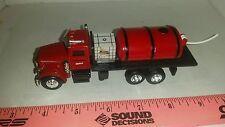 1/64 ERTL custom Peterbilt case ih red sprayer straight truck roundup farm toy