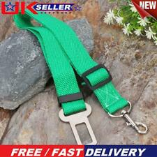 More details for car pet dog seat belt puppy safety seatbelt dog harness lead clip (green) p⑤