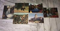Vintage Postcards Florida Cypress Gardens Utah State Capital Yellowstone