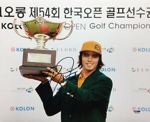 Rickie Fowler Signed 11x14 Photo *Golf PGA Tour Wins: 5 PSA W52308