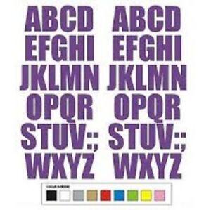 """Wheelie Bin House Numbers & Letters white Self Adhesive door bins Stickers 4""""-"""