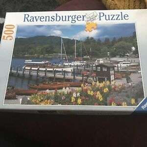 RAVENSBURGER 'Waterhead, Ambleside, Cumbria' 500 Piece Puzzle