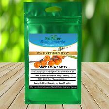 Superfood Full Spectrum Sea Buckthorn Berry Vegetable Capsules Omega 7