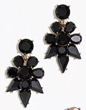 Earrings! Nwot New$34.50 Black J.Crew Factory Opaque Statement Dangle