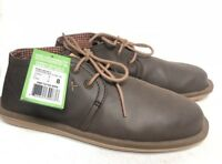 Sanuk Koda Select Lace Up Loafers Chukka Ankle Boots Brown Lace Up SMF10769