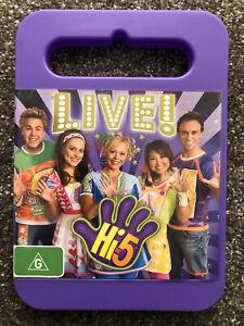 Hi 5 (Hi-5) Live DVD (Region 4 Australia) - Free Shipping