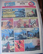 Captain Midnight Sunday by Jonwon from 10/11/1942 Large Rare Full Page Size!