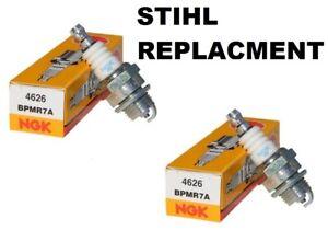 2 STIHL Chainsaw Spark Plug NGK BPMR7A  STIHL 0000 400 7000, 1110 400 7005