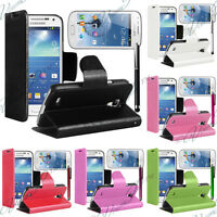 PORTEFEUILLE COQUE ETUI HOUSSE CUIR SUPPORT VIDEO SAMSUNG GALAXY ACE II X S7560M