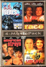 4 MOVIE PACK - US SEALS / RACE / AMERICAN STRAYS / SANTA FE - NEW!!