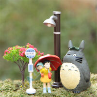 5pcs/set Anime My Neighbor Totoro Mei Home Garden Decoration Toys Figure Collect