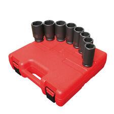 "Sunex Tools 3/4"" Drive 8 Piece SAE Deep Impact Socket Set 4681"