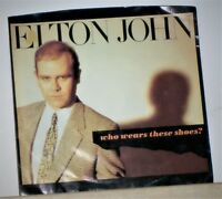 Elton John - Who Wears These Shoes ? / Lonely Boy - Original 1984 45 RPM Record